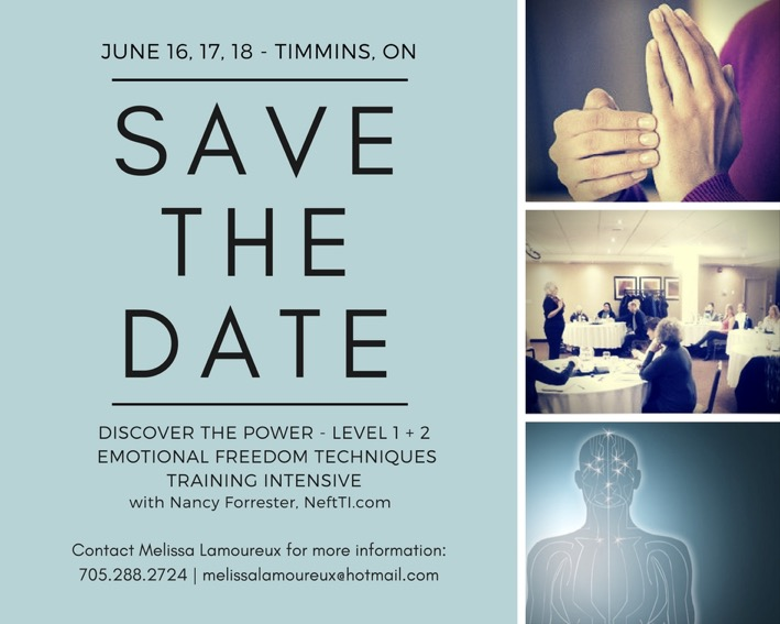 Timmins - DISCOVER the POWER (Level 1&2 EFT)